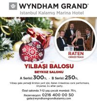 Wyndham Grand Istanbul y�lba�� program�